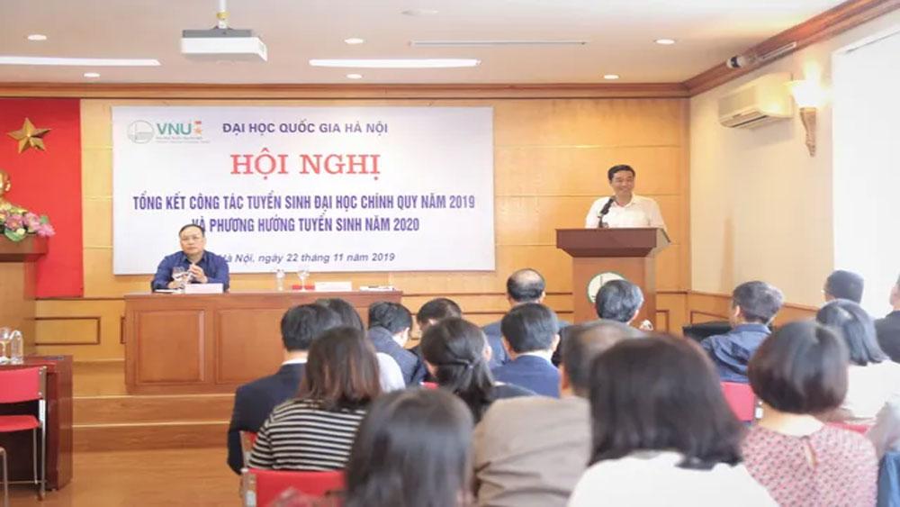 Đại học Quốc gia Hà Nội tiếp tục dùng kết quả thi THPT quốc gia để xét tuyển năm 2020