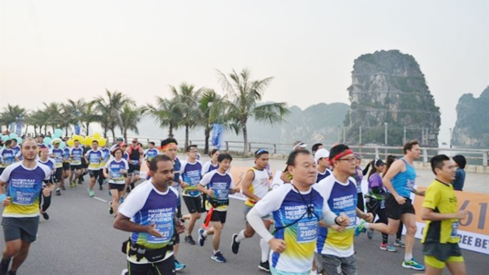 3,000 athletes, Halong Bay Heritage Marathon 2019, medals and prizes, annual event, descending dragon bay