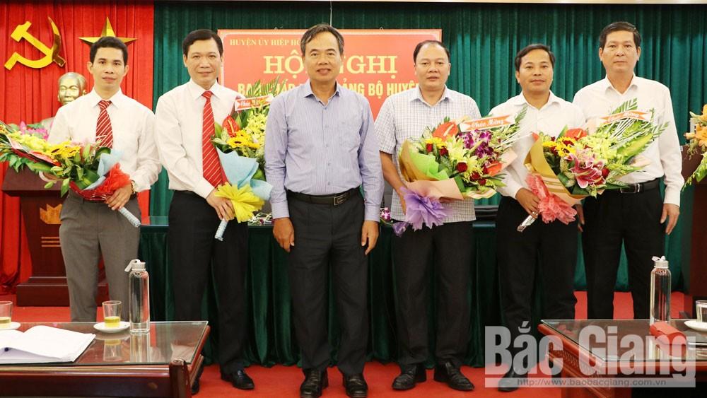 Bắc Giang, Bộ Chính trị, đại hội đảng bộ các cấp, nhân sự cấp ủy