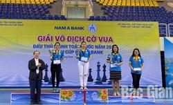 Bắc Giang giành 1 huy chương Bạc, 2 huy chương Đồng tại Giải vô địch cờ vua  đấu thủ mạnh toàn quốc