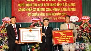 Lạng Giang: Thêm 5 xã đạt chuẩn nông thôn mới