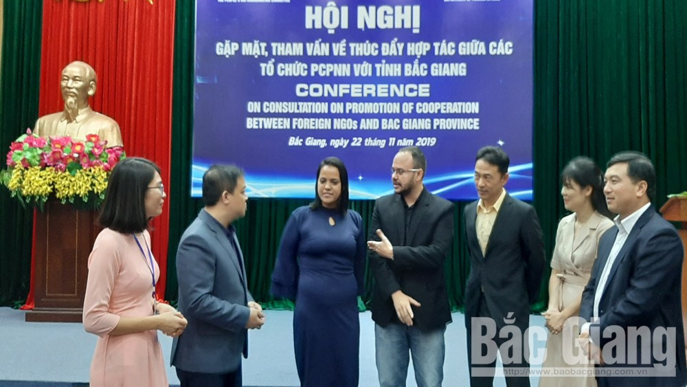 Bac Giang promotes cooperation with foreign non-governmental organizations