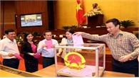 Ông Hoàng Thanh Tùng được bầu làm Chủ nhiệm Uỷ ban Pháp luật
