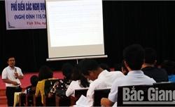 Việt Yên: Yêu cầu bảo đảm an toàn thực phẩm cho học sinh bán trú
