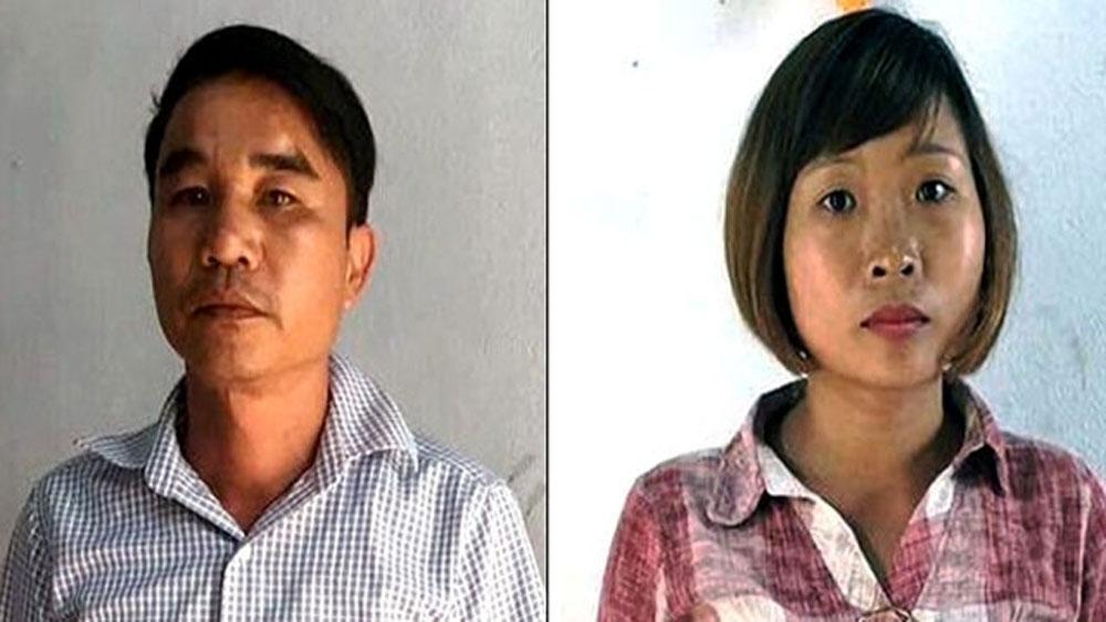 Tạm giữ, hai đối tượng, nghi giả danh nhà báo, cưỡng đoạt tài sản, Nhâm Tiến Dũng, Trịnh Thị Hoài