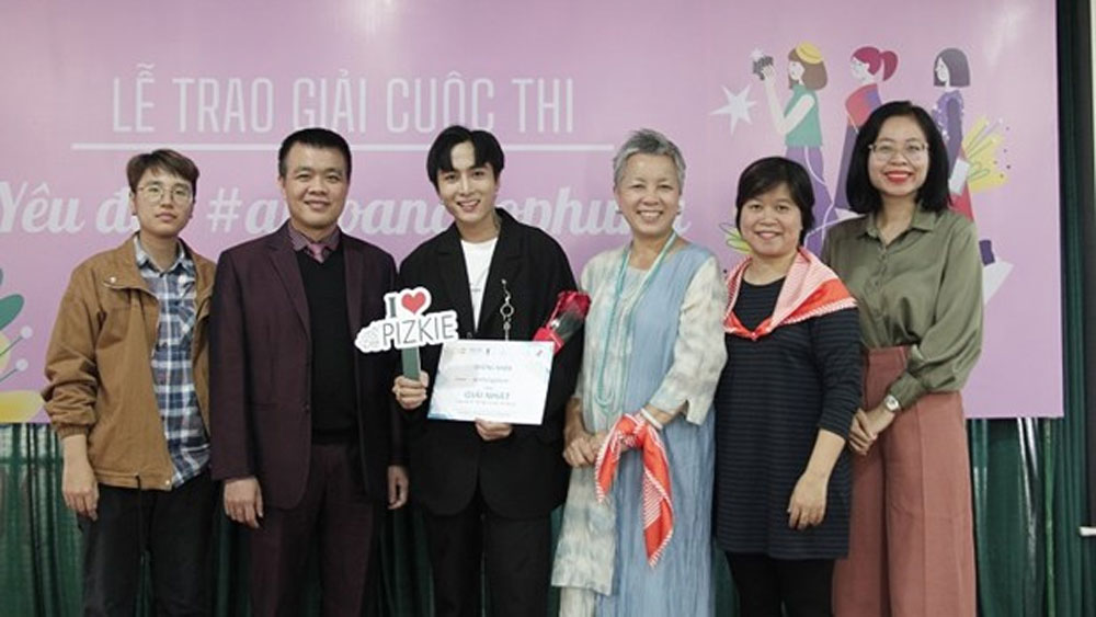 safety of women competition, Pham Hong Son, first prize, video entry, Love beauty, safety for Women, TikTok Vietnam