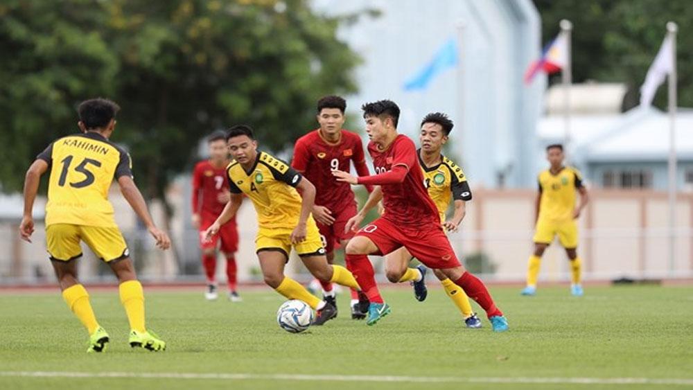 SEA Games, Vietnam, Brunei, first men's football match, perfect start, 30th SEA Games journey, head coach Park Hang-seo