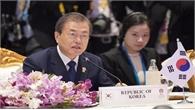 Hội nghị Cấp cao ASEAN - Hàn Quốc: Tổng thống Moon Jae-in nhấn mạnh tinh thần hợp tác và đoàn kết