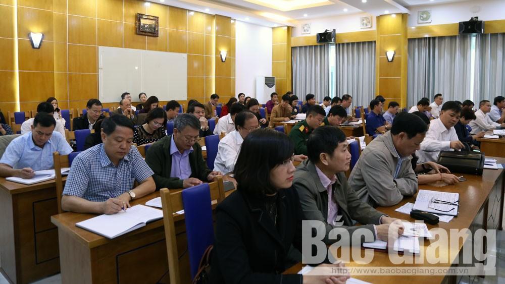 Bắc Giang, thông tin, định kỳ, báo cáo viên
