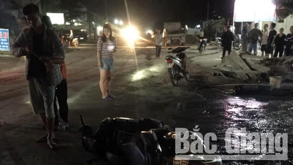 tai nạn giao thông, Bắc Giang, Tân Yên, tử vong.