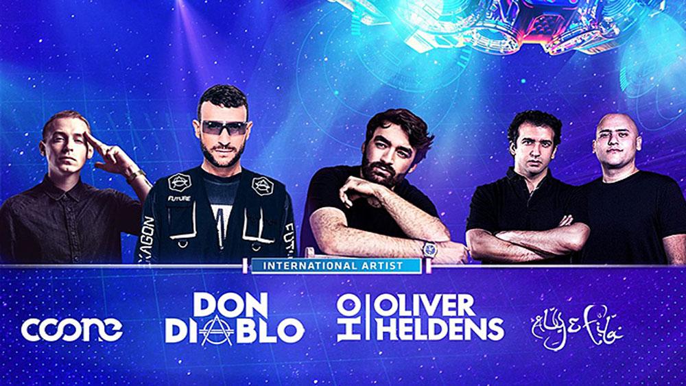 World-famous DJs, Saigon EDM festival, all-star lineup,  international DJs, Ravolution Music Festival, outdoor electronic dance music