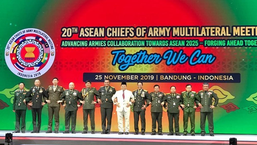 ASEAN, army chiefs, Indonesia, Army Multilateral Meeting, national security, world peace