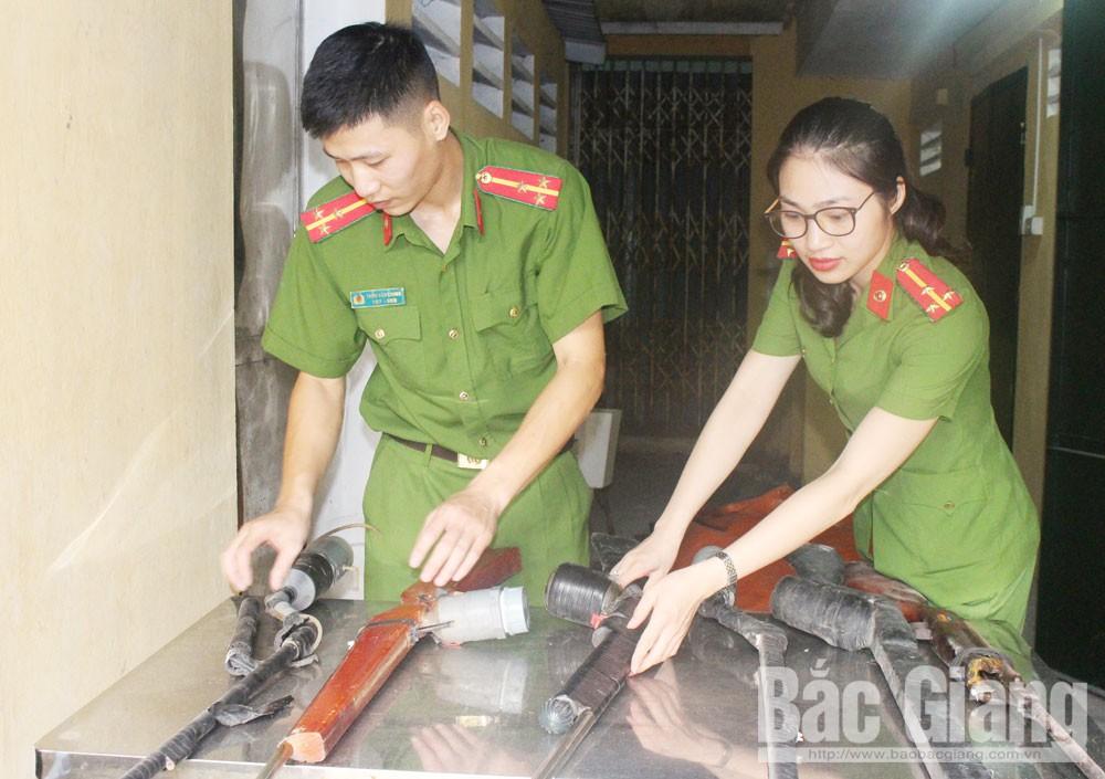 Bắc Giang, mua bán, sử dụng súng tự chế, vũ khí