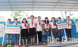 Hỗ trợ kinh phí xây dựng 2 bể bơi trường học huyện Lục Ngạn