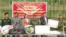 Lục Nam: Thăm, tặng quà quân nhân dự bị tham gia huấn luyện diễn tập khu vực phòng thủ