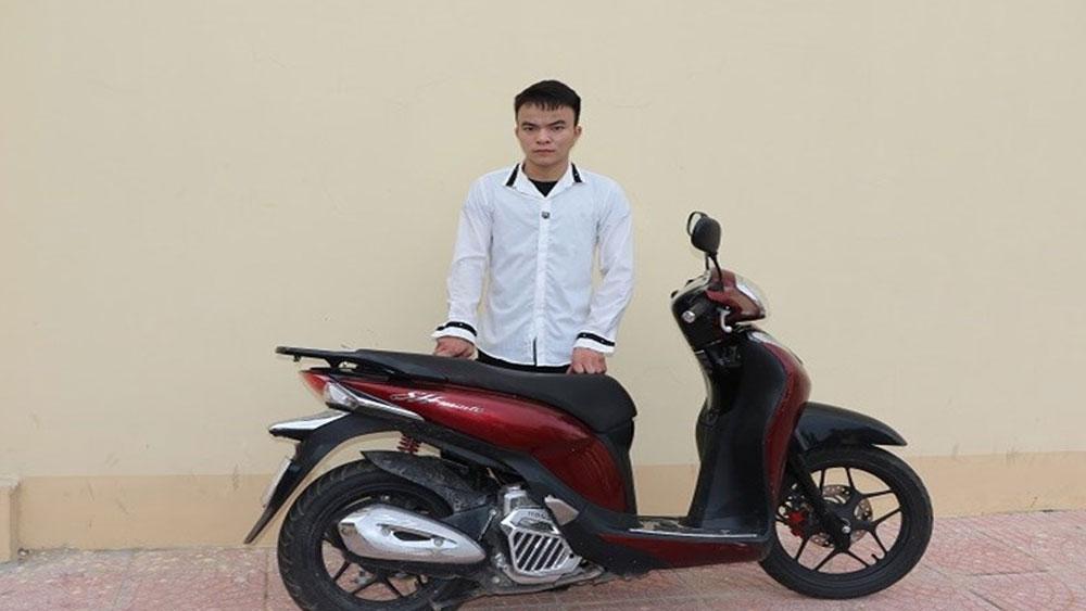 Bắt đối tượng, đột nhập nhà dân, trộm 60 triệu đồng, xe máy SH, đối tượng Chu Văn Linh