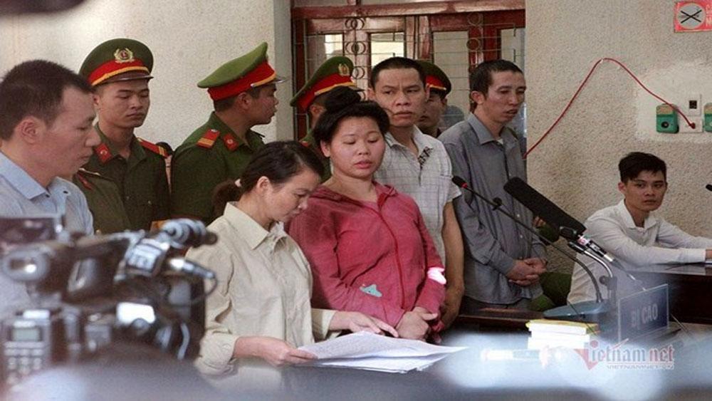 Mẹ nữ sinh, giao gà ở Điện Biên, bị đề nghị 20 năm tù, Vì Thị Thu, Lường Văn Hùng, Bùi Văn Công, Trần Thị Hiền