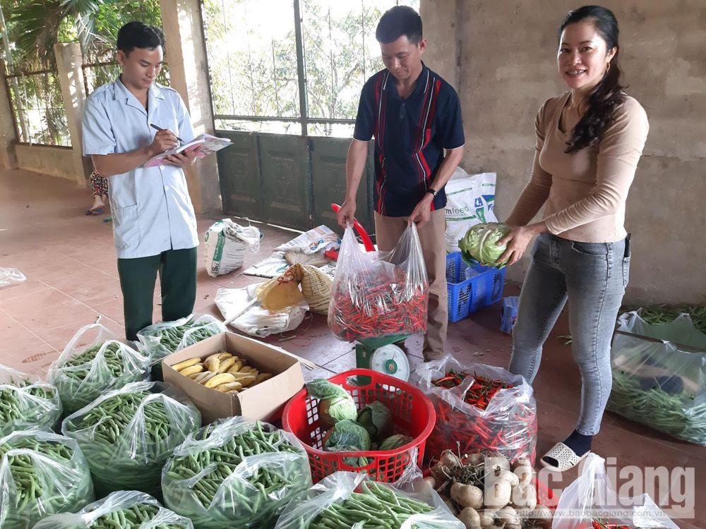 diễn tập khu vực phòng thủ, ủng hộ lương thực, Lạng Giang, Bắc Giang