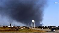 Nổ nhà máy hóa chất tại Mỹ: Sơ tán hàng chục nghìn người dân