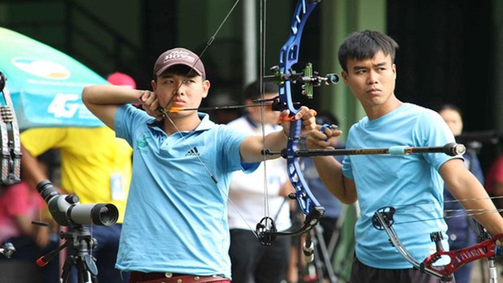 Vietnamese archer, historical silver medal, Asia champs, Nguyen Van Day, Asian Archery Championships, Vietnam Archery Federation, regional tournament