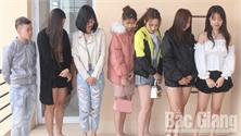 Bắc Giang: Kiểm tra quán karaoke lúc nửa đêm, phát hiện 13 đối tượng dương tính với ma túy