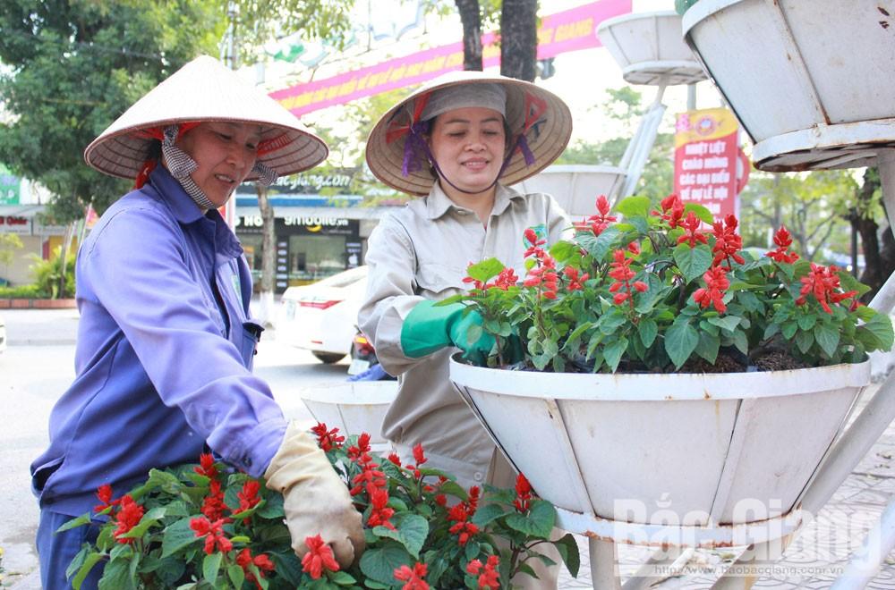 TP Bắc Giang,  nếp sống văn hóa,  ý thức, trách nhiệm, trật tự, vệ sinh, mỹ quan đô thị