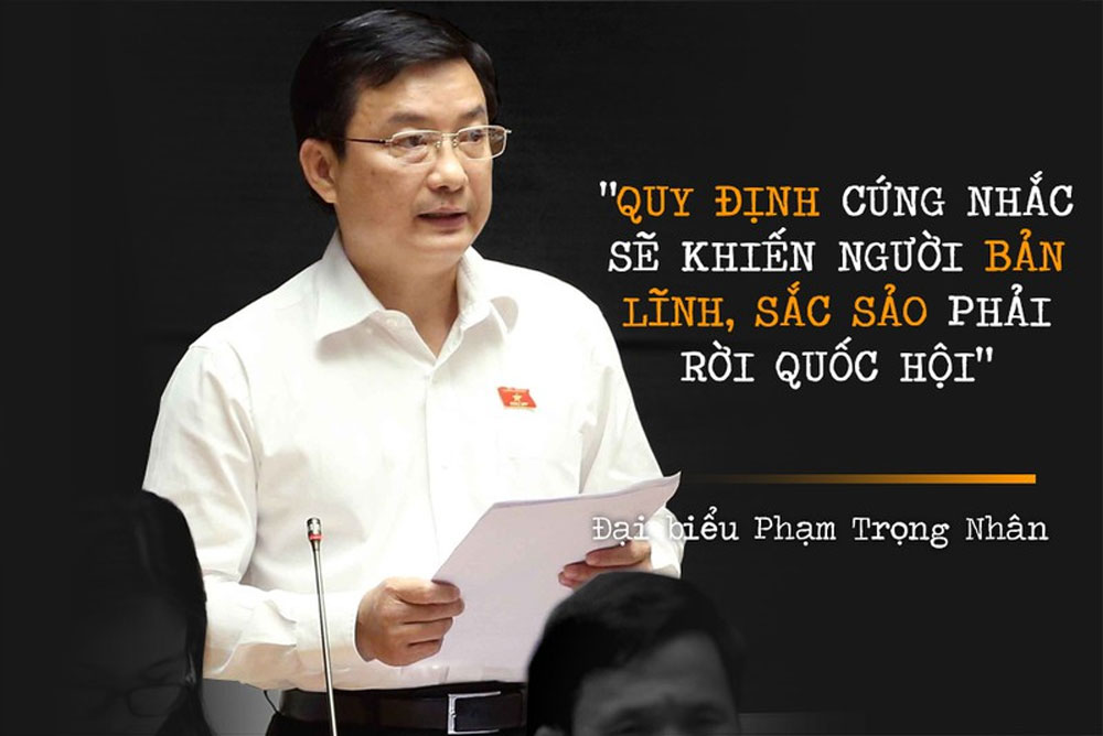 Những phát ngôn ấn tượng, Kỳ họp thứ 8 Quốc hội khoá XIV, Báo Bắc Giang, Bắc Giang