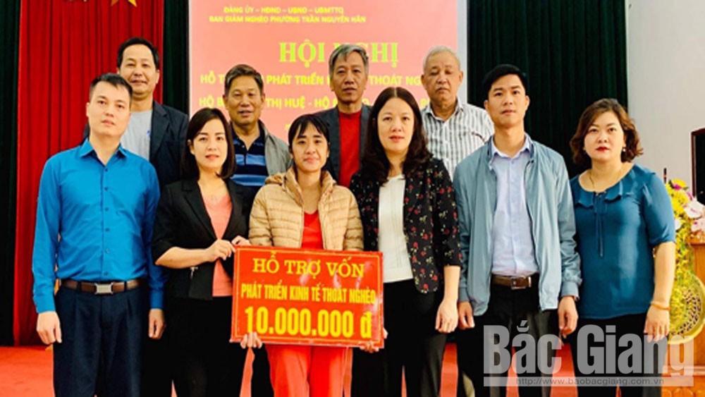 Hỗ trợ vốn phát triển kinh tế cho hộ nghèo