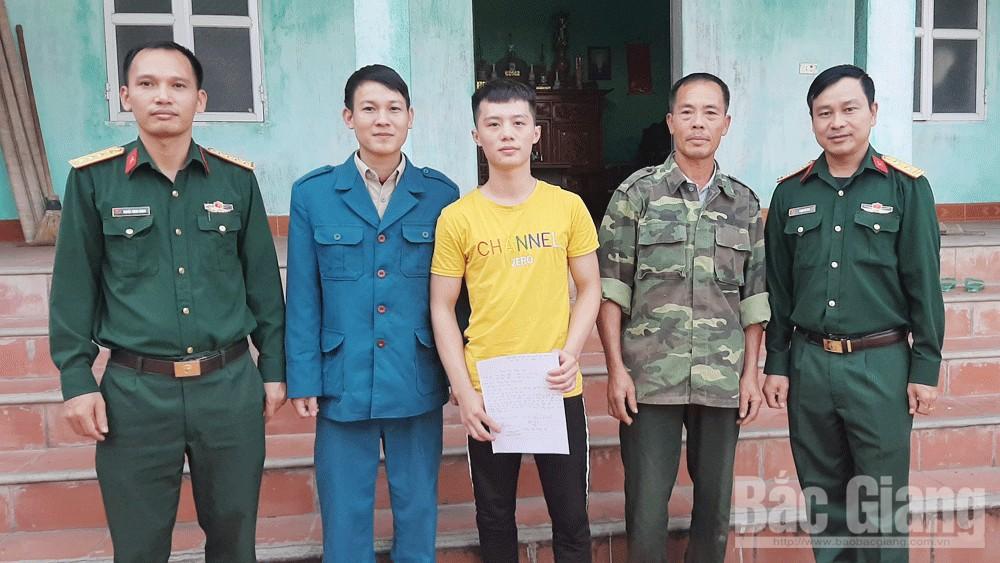 Yên Thế, Bắc Giang, tình nguyện viết đơn nhập ngũ, rèn luyện, trưởng thành