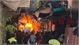Bình gas nổ trong khu dân cư