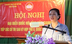 Đoàn ĐBQH tỉnh Bắc Giang tiếp xúc cử tri tại huyện Yên Dũng: Kiến nghị nhiều vấn đề về đất đai