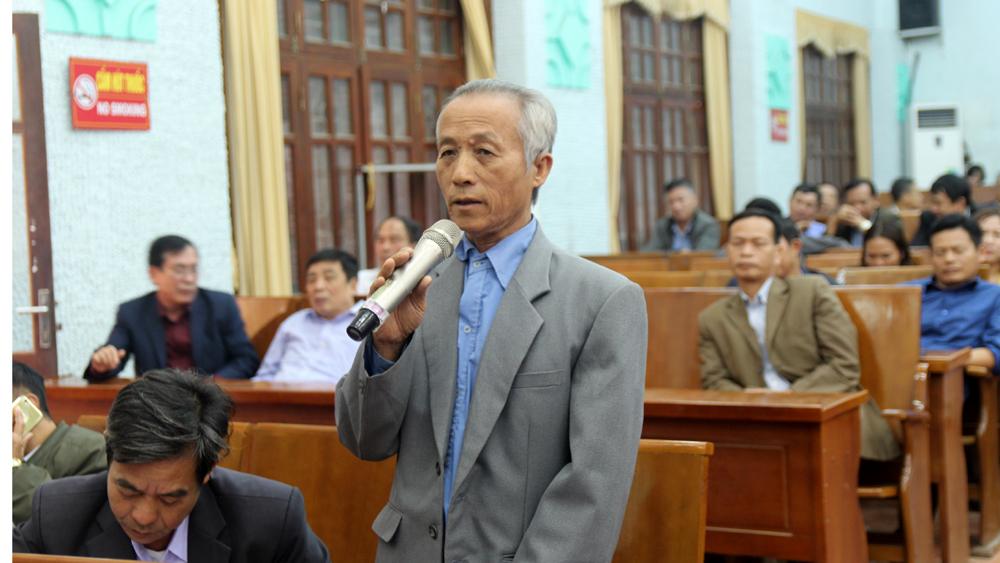 tiếp xúc cử tri, bắc giang, hiệp hòa, tân yên, đại biểu quốc hội, Trần Văn Lâm