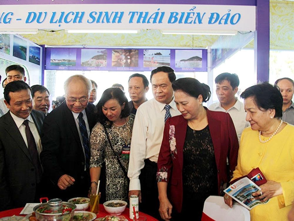 Chủ tịch Quốc hội Nguyễn Thị Kim Ngân, dự khai mạc, Hội chợ du lịch quốc tế Cần Thơ 2019