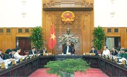 Thủ tướng chủ trì họp Thường trực Chính phủ xây dựng dự thảo Nghị quyết 01 năm 2020