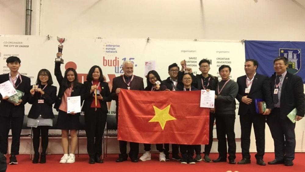 Cuộc thi Phát minh sáng chế quốc tế INOVA 2019, Đoàn học sinh Việt Nam, Cúp đặc biệt, Huy chương Vàng