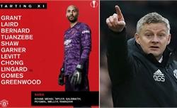 Man Utd lập kỷ lục đội hình trẻ nhất lịch sử dự Cup châu Âu