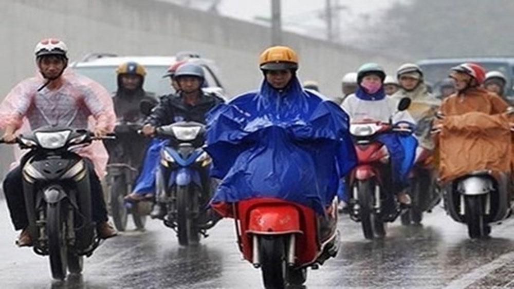 Dự báo thời tiết 1-12, Không khí lạnh, mưa rét, thời tiết Bắc Giang