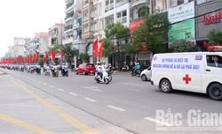 Mít tinh hưởng ứng Tháng hành động quốc gia phòng, chống HIV/AIDS năm 2019 tại Bắc Giang