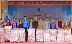 Bắc Giang: Phát động chương trình tình nguyện mùa Đông và Xuân tình nguyện tại xã khó khăn