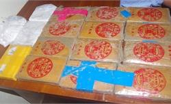 Dân giao nộp 25 bánh heroin tại bãi biển Quảng Nam