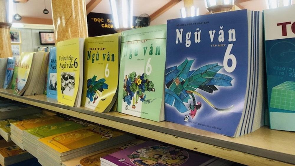 Mỗi trường, thành lập một hội đồng, lựa chọn sách giáo khoa mới, Bộ Giáo dục và Đào tạo, Báo Bắc Giang