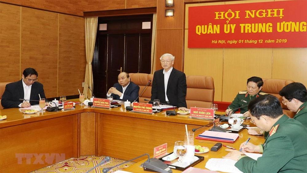 Quân ủy Trung ương, tổng kết công tác quân sự, quốc phòng , năm 2019, Báo Bắc Giang, Tổng Bí thư