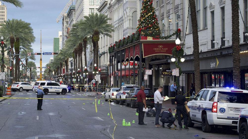 Mỹ, Xả súng tại New Orleans, 11 người bị thương, Báo Bắc Giang, Bắc Giang