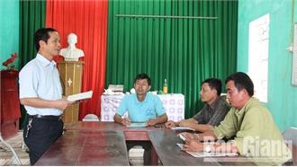 Sinh hoạt chi bộ theo chuyên đề ở Lạng Giang: Lựa chọn vấn đề người dân quan tâm
