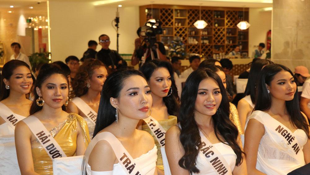 45 người đẹp, bước vào vòng thi bán kết, chung kết, cuộc thi Hoa hậu Hoàn vũ Việt Nam 2019