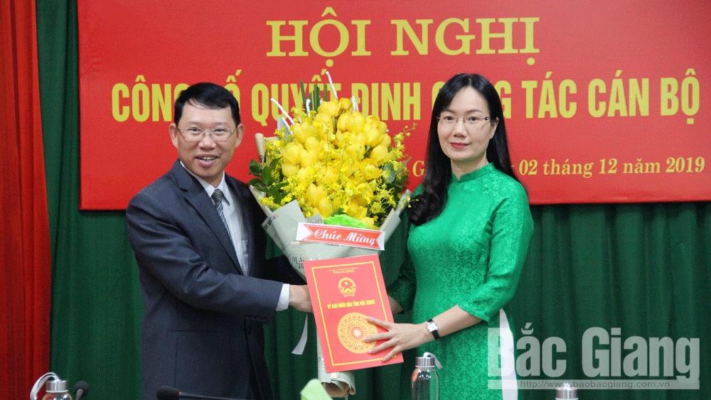 Đỗ Thị Việt Hà, Giám đốc Sở Tư pháp, bổ nhiệm