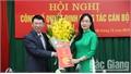 Đồng chí Đỗ Thị Việt Hà giữ chức Giám đốc Sở Tư pháp Bắc Giang