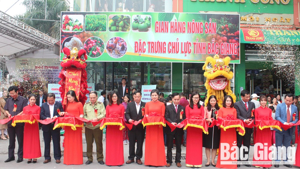 Bac Giang farm produce store opens in Hanoi