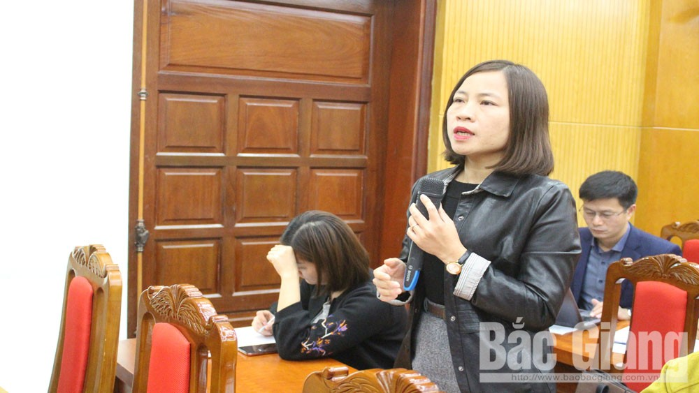 Bắc Giang, báo chí, tình hình kinh tế-xã hội,