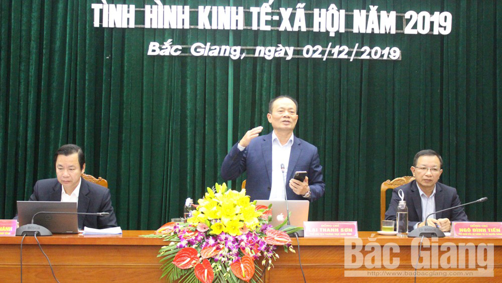 UBND tỉnh Bắc Giang thông tin về tình hình KT-XH năm 2019